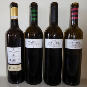 Matúe bottles tasted